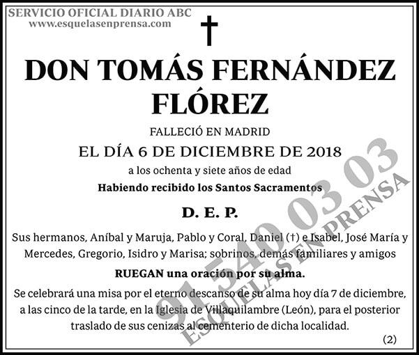 Tomás Fernández Flórez
